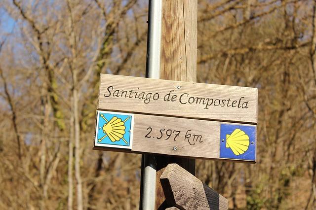Pelgrimsroute naar Santiago de Compostella